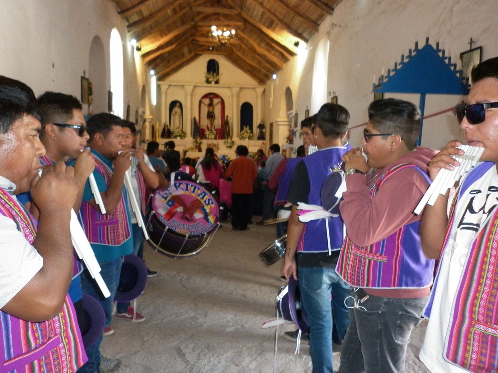 Fiesta patronal en Chiu-Chiu